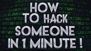 How to hack someone in 1 minute (delete all victim's file) Download - 2017 ʰᵃᶜᵏ
