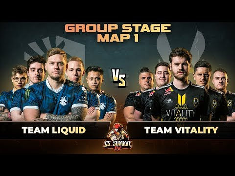 VOD: Liquid vs Vitality - cs_summit 4 - Map 1