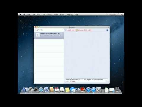 Mac OS X 10.8 Mountain Lion TEST