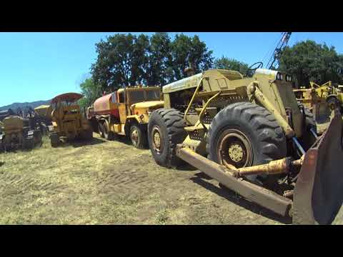 Walking Tour Of Old Construction Equipment