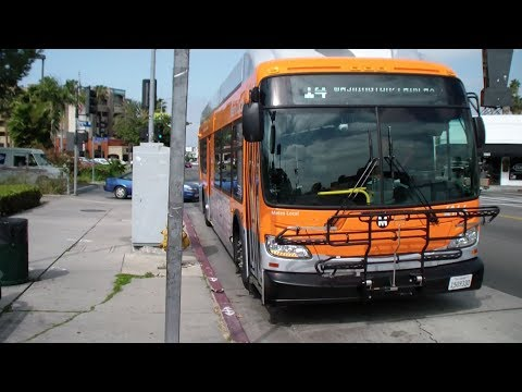 Metro Los Angeles: Line 14/37: Beverly / Curson & Gardner - Grand / 11th St (Downtown)