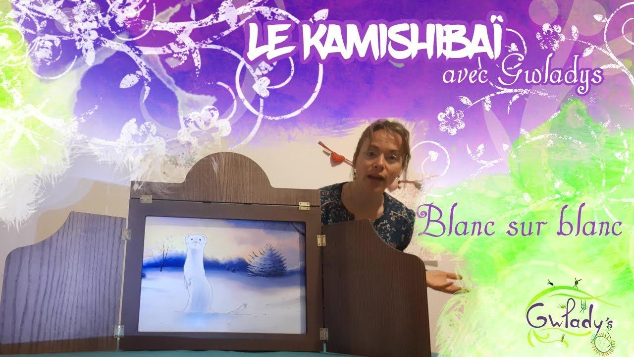 Blanc sur blanc- Dès 3 ans-Le Kamishibaï avec Gwladys - Une parenthèse dans le temps -