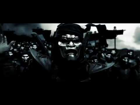 """""""300 спартанцев"""" Спартанцы против Бессмертных,элиты персидской армии"""