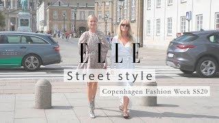 The best street style from Copenhagen Fashion Week SS20