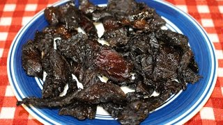 Teriyaki Beef Jerky Made In The Toaster Oven~easy Recipe