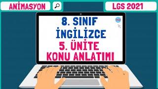 8. Sınıf İngilizce 5.Ünite Konu Anlatımı | The Internet