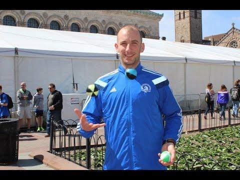 Michael Bergeron Wants To Joggle The Boston Marathon In 3:05