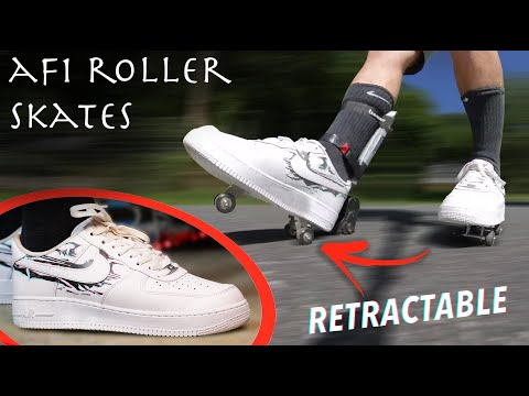 shoes that look like roller skates