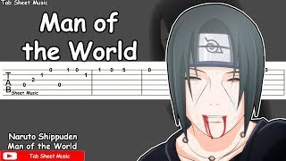 Naruto Shippuden OST - Man of the World Guitar Tutorial