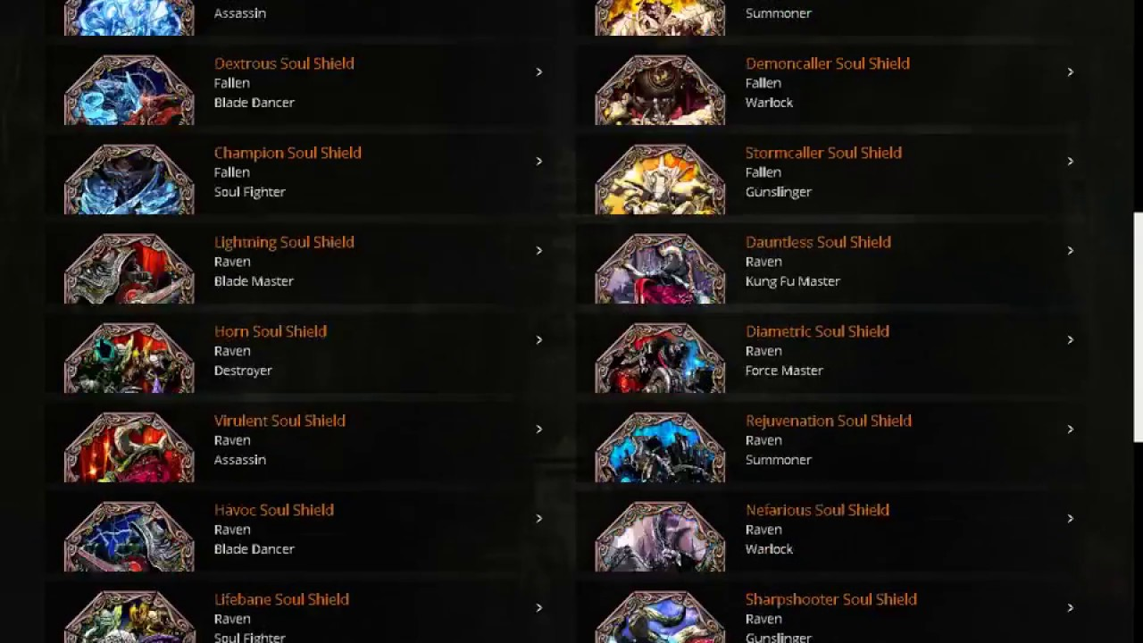 Blade and Soul en español:Como elegir Badges y Soul Shield con bnstree