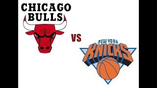 NBA 1995. Регулярка. Bulls vs. Knicks