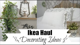 Ikea Decorating   Farmhouse Decor Ideas From Ikea Haul   Momma From Scratch