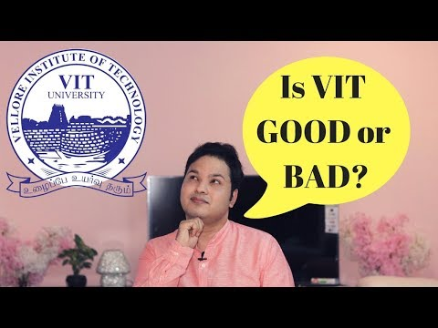 vit vellore 2018 | Admission | Counselling | Placement | Life