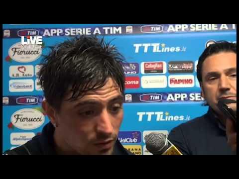 Plasil e Alvarez dopo Catania Genoa