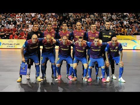 BARCELONA vs SPORTING. UEFA Futsal Cup. Semifinal. 27/04/2012