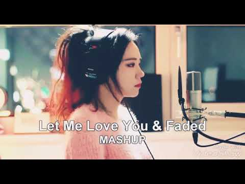 JFla cover [Let me love you and Faded]~[Titanium and Alone]~[Shape of you]
