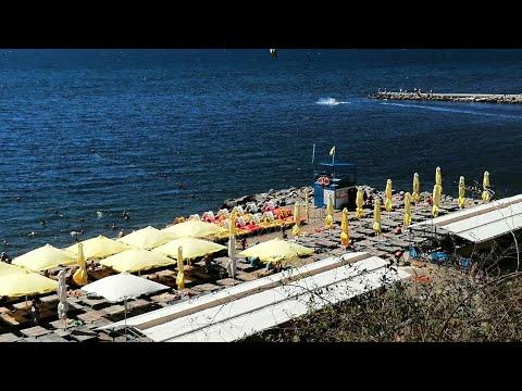 Шок! Что творится на пляже Высокий Берег, отдых в Анапе 23 июля 2020 Краснодарский край чёрное море
