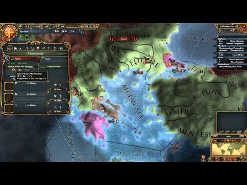 Europa Universalis IV Nations - Byzantium (a.k.a. Byzantine Empire, a.k.a. Future Ottomans)