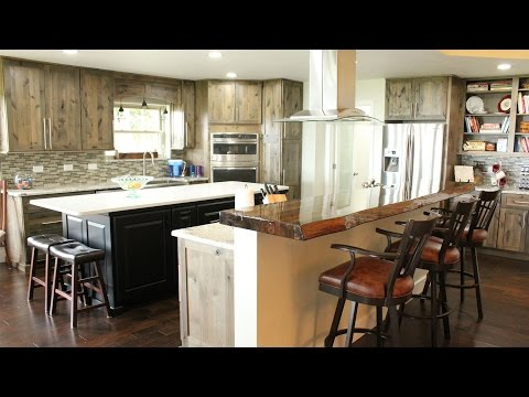 Rustic Modern Kitchen Design Remodel - Destin, FL