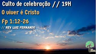 Culto de Celebração 19h // 30 de agosto de 2020 // Igreja Presbiteriana - GV