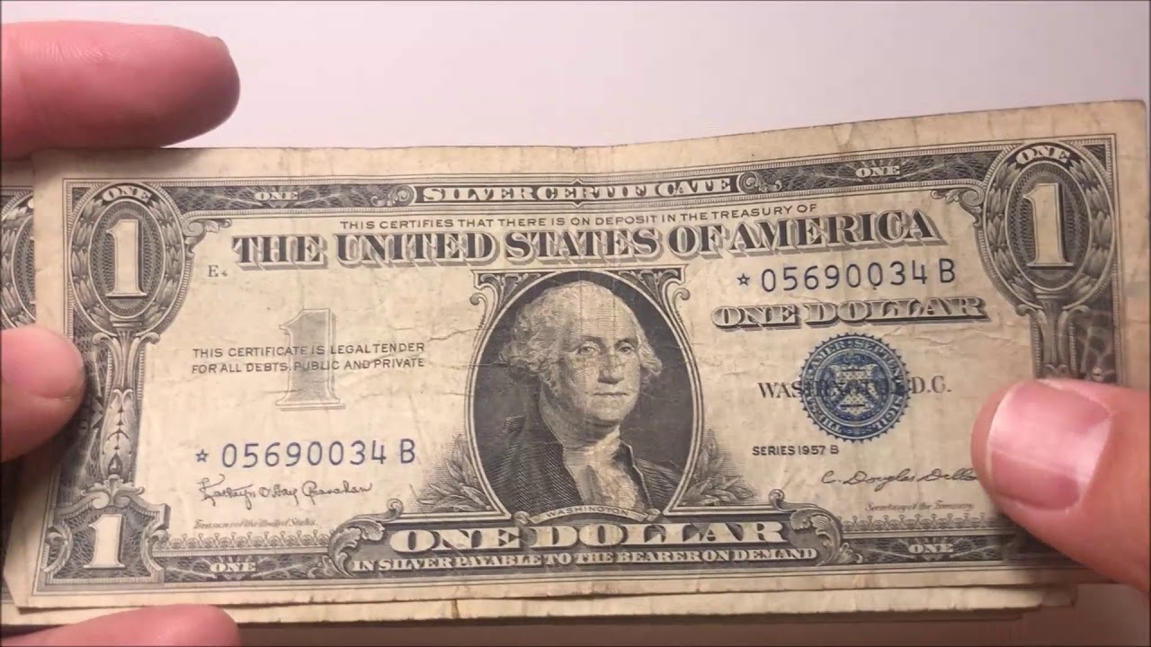 Are Silver Certificates Rare Or Tough To Find Keep An Eye Out On