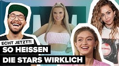 So heißen Miley Cyrus, Mark Forster, Shirin David, Nico Santos & Co. wirklich | Digster Pop Stories