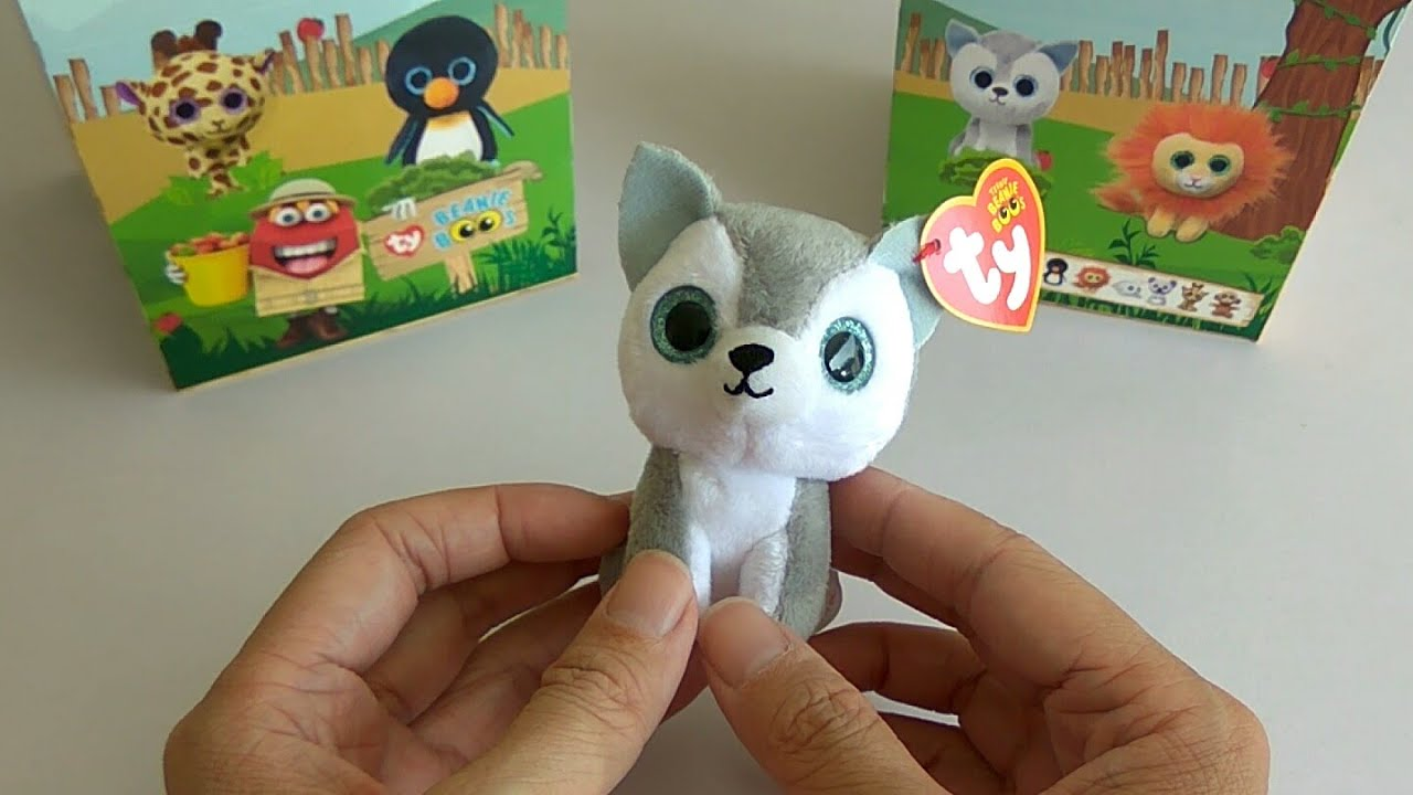 McDonald s Happy Meal Toy  TY Beanie Boos - Timber (2018) - YouTube 562bb34dbe2
