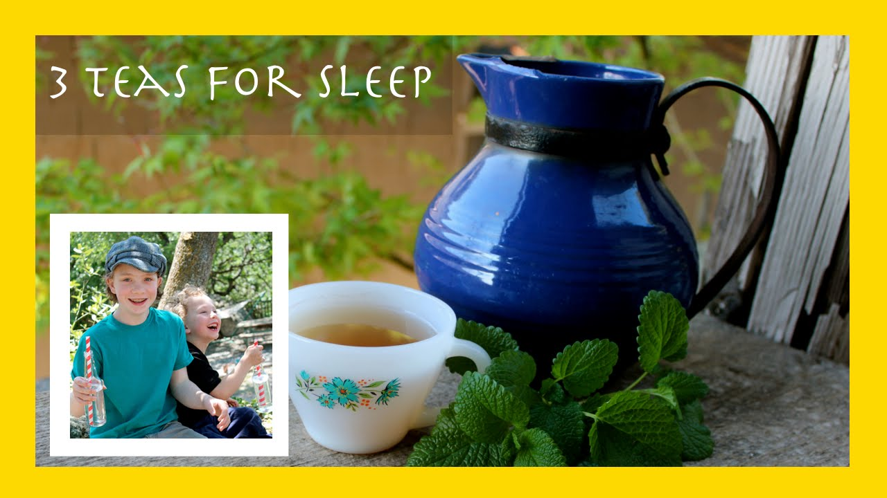 3 teas to help you sleep, a sleep remedy picked fresh from the