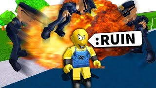 Roblox roleplay game GAVE ME ADMIN COMMANDS
