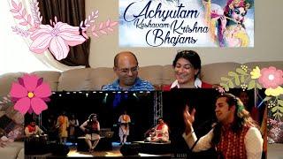 Achutam Keshavam - Kaun Kehte hai Bhagwan Aate nahi | Ankit Batra Art of Living | Krishna Bhajan