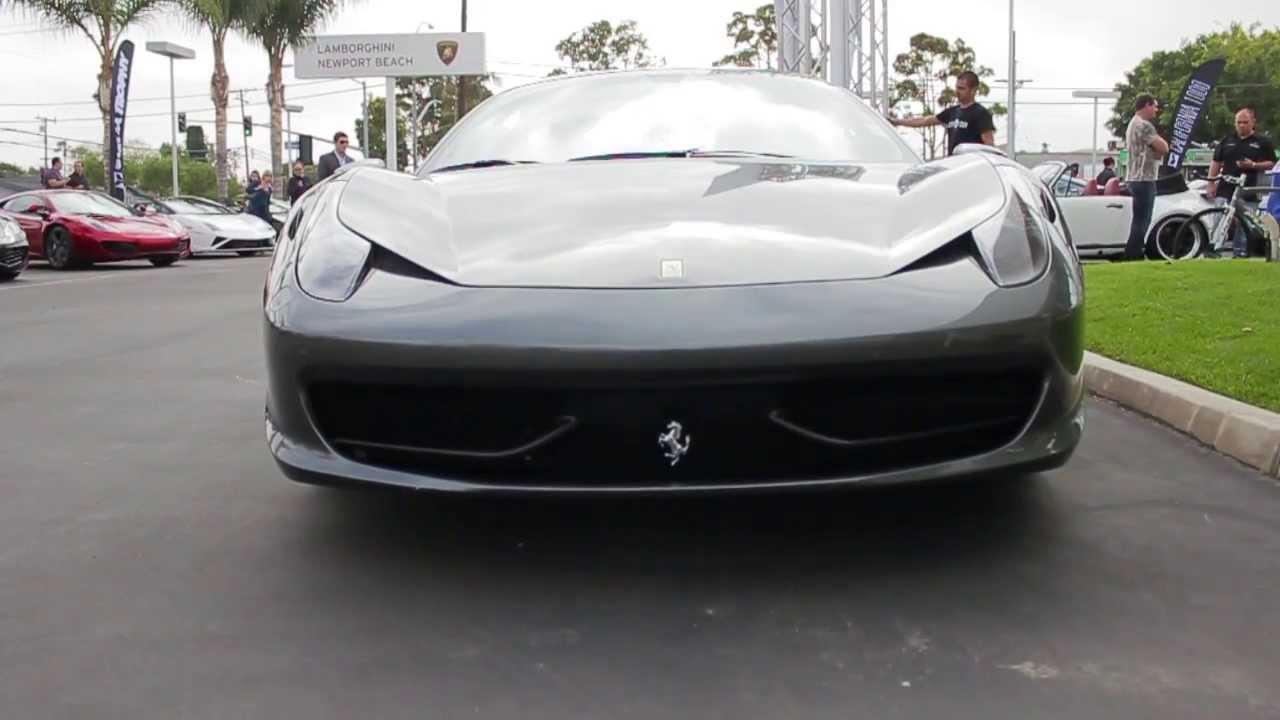 Ferrari 458 Italia From Eurocar At Lamborghini Newport Beach Targa