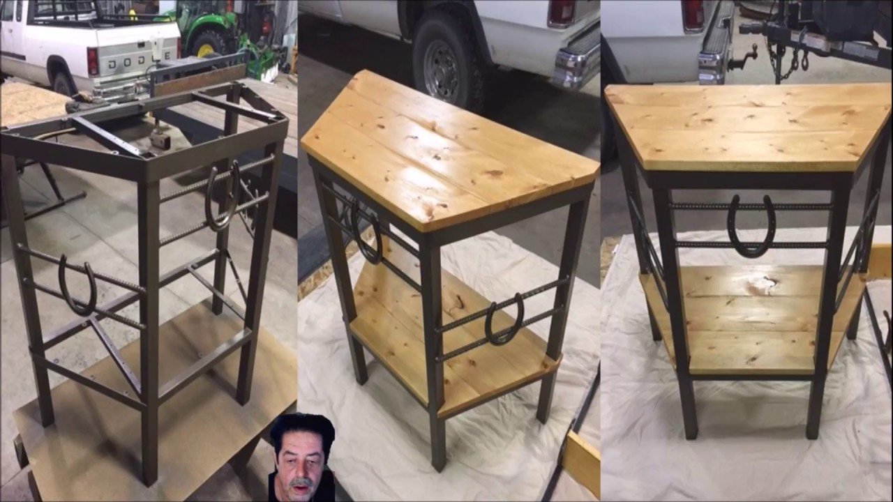 How To Make Money Welding - Part 24 ( How To Make a End Table ) - YouTube