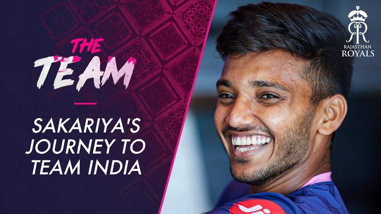 Chetan Sakariya's journey to Team India