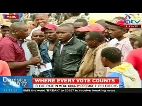 Meru electorates speak on their expectations in this year's elections