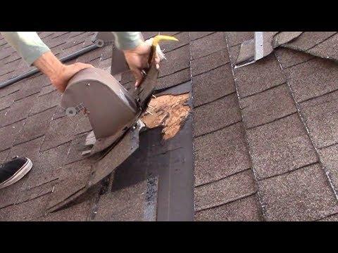 Bathroom Exhaust Vent Roof Leak Repair