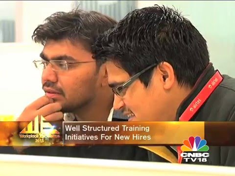 airtel featured in CNBC TV18 series 'Workplace Excellence'.