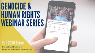 Oral History, Human Rights, and the Law -  Genocide and Human Rights Webinar Series