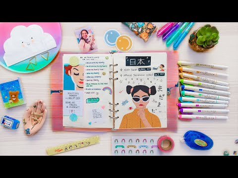 How To Journal For Beginners! 2020 DIY Art Things To Do When Bored at Home