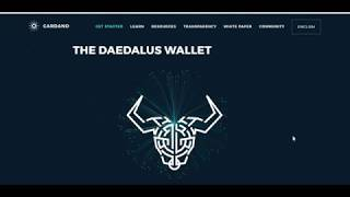 Staking Cardano (ADA) with Upcoming Shelley Upgrade and Daedalus Wallet