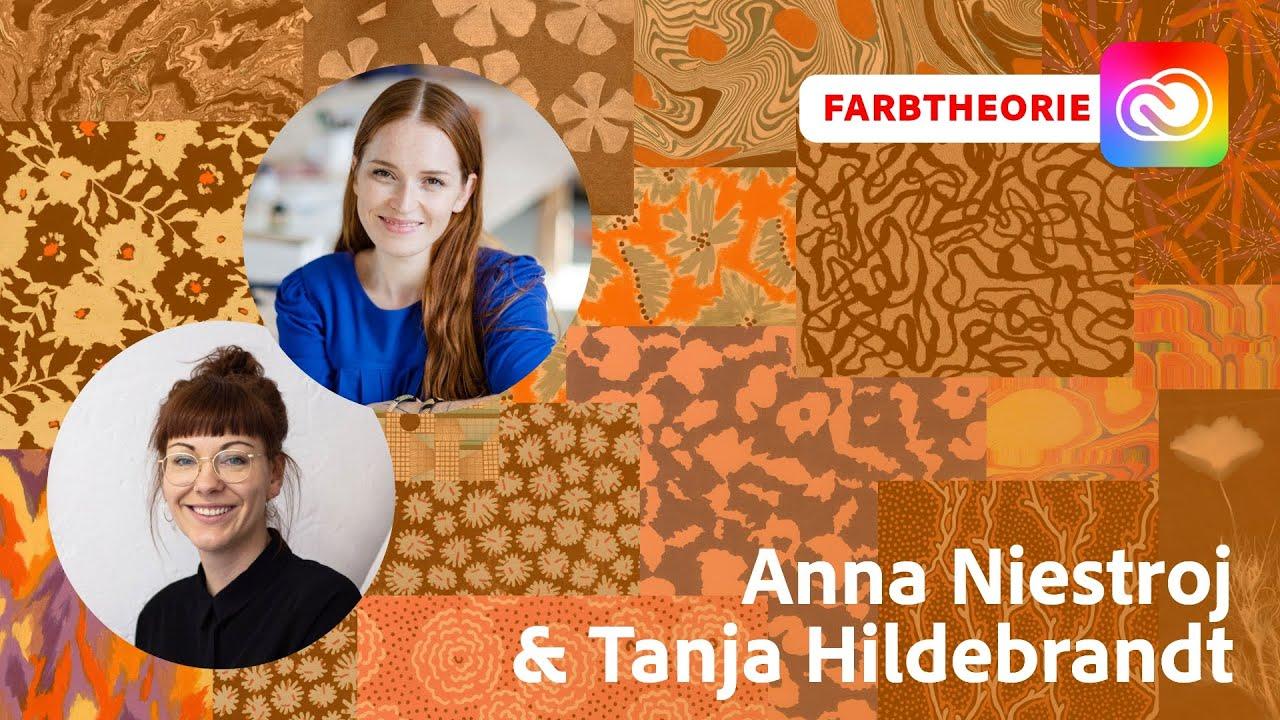 Farbtheorie mit Anna Niestroj und Tanja Hildebrandt  Adobe Live