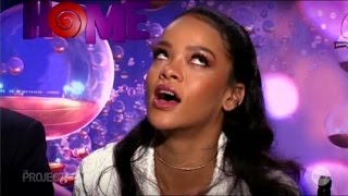 "Rihanna ""It's a Black Girl Thang"" Australian Tv Interview March 28, 2015"