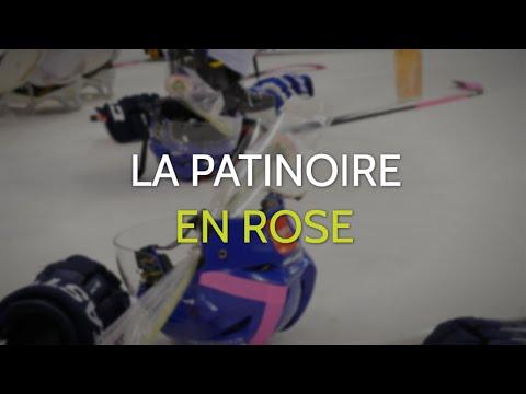 [La patinoire en rose 2016] Hockey sur glace Villard de Lans /Asnières