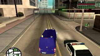 [REL] GTA SA M.B Sprinter Dutch riot squad.