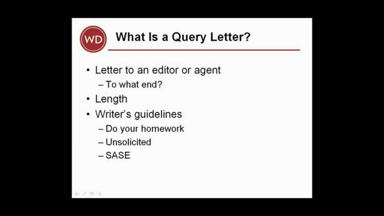 Query letter basics for books writers digest tutorials youtube query letter basics for books writers digest tutorials altavistaventures Images