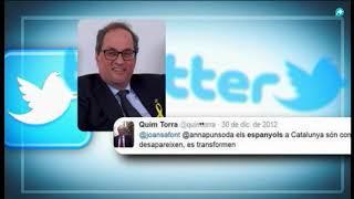Xenófobo y radical: el pasado de Quim Torra, el nuevo candidato a ser presidente de la Generalitat