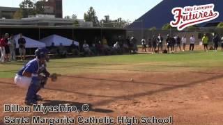 DILLON MIYASHIRO PROSPECT VIDEO, CATCHER, SANTA MARGARITA CATHOLIC HIGH SCHOOL CLASS OF 2014