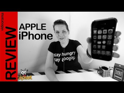 Apple iPhone 1 review -retrovideorama histórico 10 años-