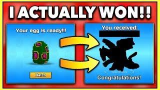 I ACTUALLY WON THIS?! | Pixel Gun 3D Egg Opening #3
