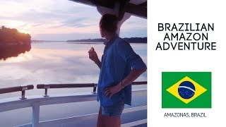 I went to the Amazon, and it was EVERYTHING I hoped for - Brazil Amazon River Cruise