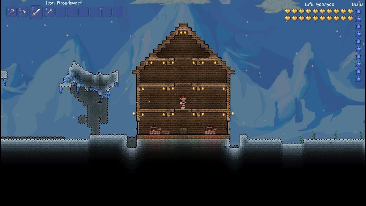 Terraria House Defense Designs